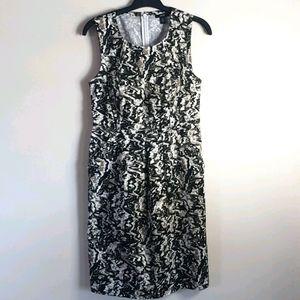 Jacob dress sleeveless  camo print SZ 6